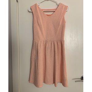 Cute vintage pattern xhilaration dress size small